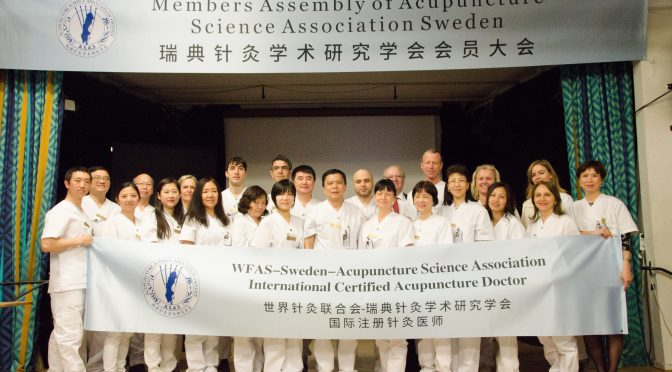 Acupuncture Science Association in Sweden's yearly meeting held in Stockholm