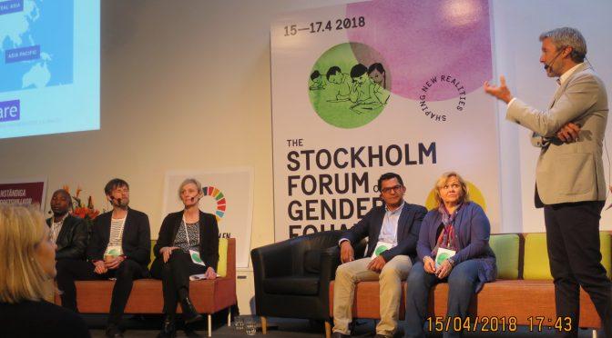 今日要闻:斯德哥尔摩性别平等论坛开幕