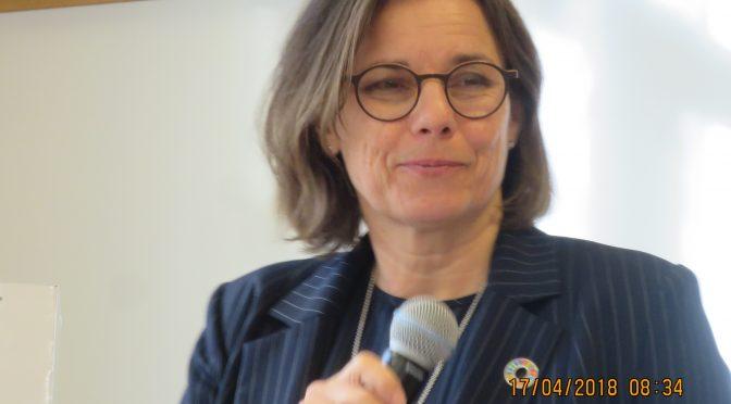 瑞典副首相国际发展合作与气候大臣略文说中国在气候变化问题上可以发挥重要作用