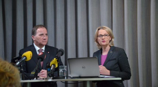 今日头条:瑞典社民党党首洛夫文发布新时代安全移民政策