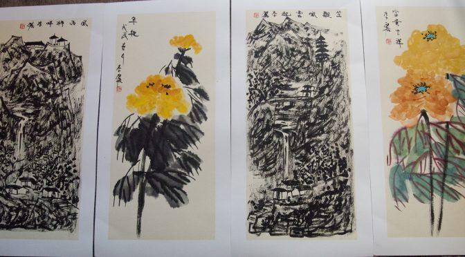 今日头条:中国女画家李丽画作在斯德哥尔摩展出