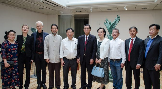 Qingtian Stone Sculpture, Yixing Zisha Clay Art and Swedish Sculpture Meet