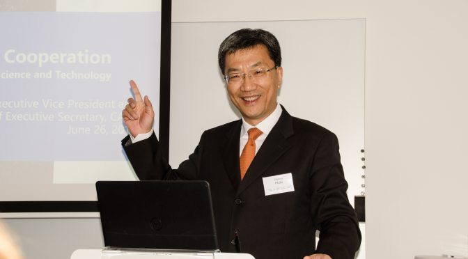 Huai Jinpeng presents how to serve 91 million scientific workers in IVA