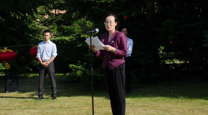 视频:体验中国驻瑞典使馆开放日
