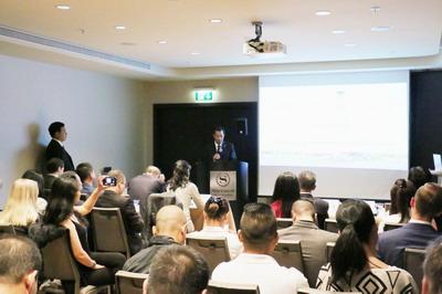 驻瑞典大使桂从友出席中国陕西——瑞典经贸推介会并致辞