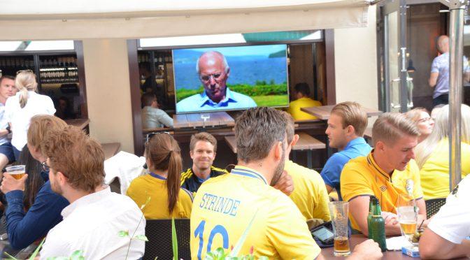 北欧体育:瑞典英格兰大战在即 瑞典小黄人蠢蠢欲动