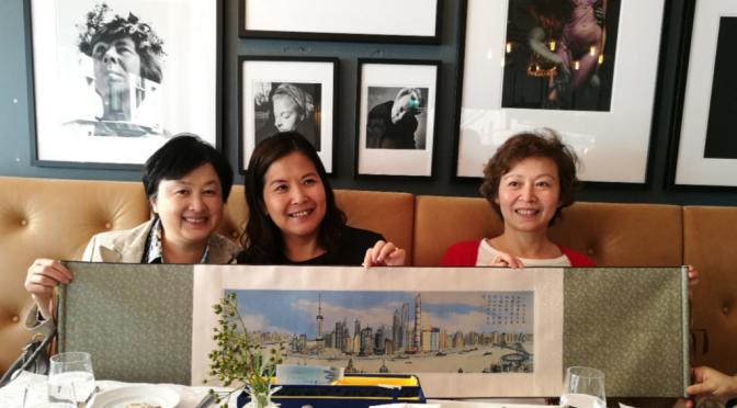 上海侨办代表团访问瑞典皇家工学院