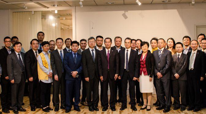 """今日头条:桂从友大使出席世界新形势下如何做好和平统一及""""一带一路""""工作座谈会"""