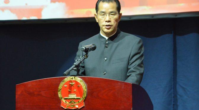 今日头条:中国驻瑞典大使馆隆重庆祝中华人民共和国建国69周年