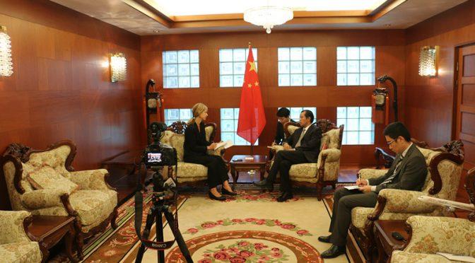 今日头条:桂从友大使就媒体交流和中瑞关系接受瑞典《记者报》专访