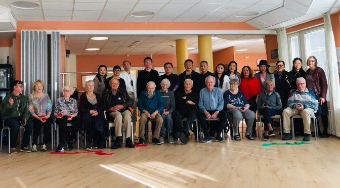 深圳市民政局局长廖远飞一行访问瑞典考察老人院和福利体系