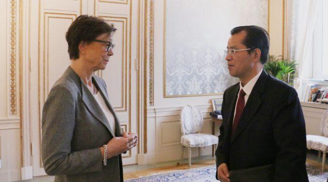 今日头条:桂从友大使与瑞典外交部国务秘书就当前双边关系发展问题深入交换意见