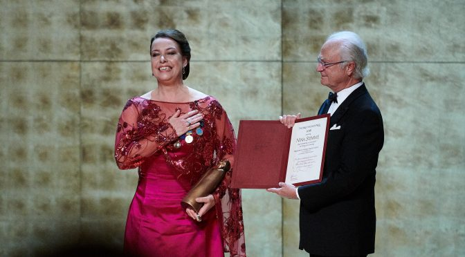 Video: Birgit Nilsson Prize winner Nina Stemme: I was a coward when I was 10 or 11
