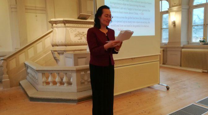 驻瑞典大使夫人宋景丽女士访问斯德哥尔摩蒙特梭利国际学校
