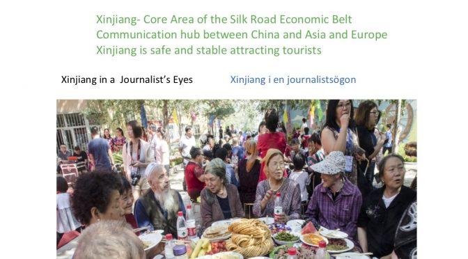 今日头条:《北欧绿色邮报-新疆特刊》在斯德哥尔摩出版发行