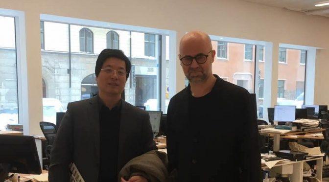 今日头条:挪威北欧集团董事长曹侃一行考察瑞典绿色房地产项目