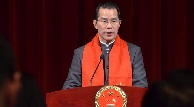 今日头条:中国驻瑞典大使馆举办春节招待会 年味十足