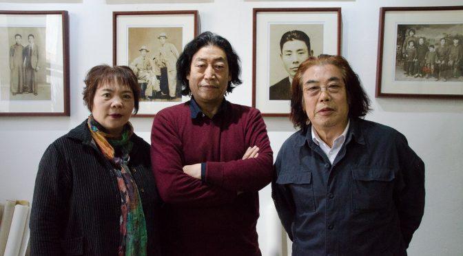 拜访著名画家曹瑞华、杨永家、崔虹和李丽
