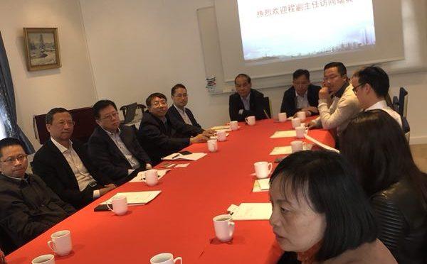 台州市商务代表团访瑞:期待与瑞典更多合作