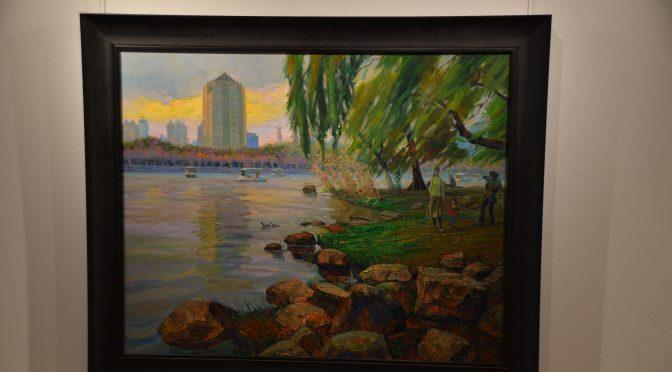 上海浦东新区艺术展座谈会在斯德哥尔摩中国文化中心举行