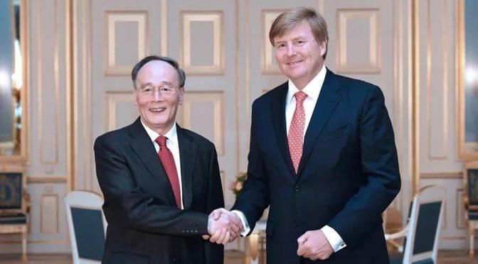 中国国家副主席王岐山访问荷兰