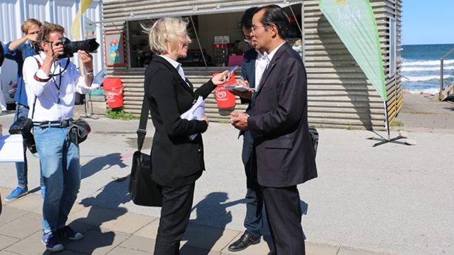 今日头条:桂从友大使分别接受瑞典通讯社、《快报》专访