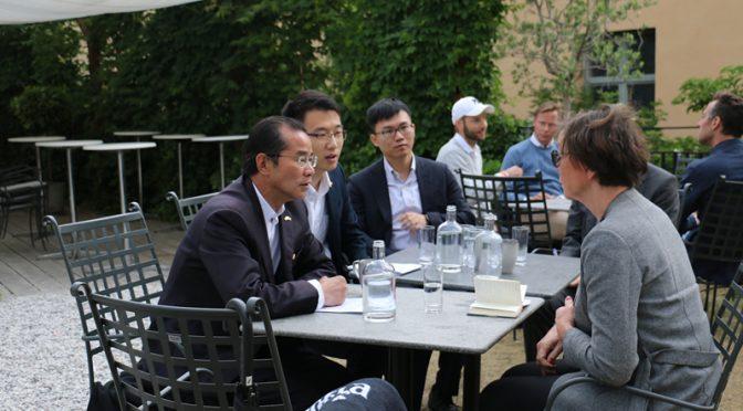桂从友大使敦促瑞方尽早同意将乔建军引渡回中国