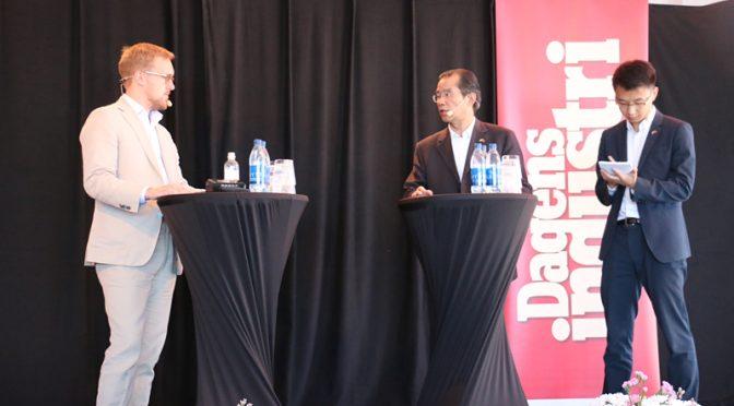 今日头条:桂从友大使接受瑞典《今日工业报》记者奥兰德专访