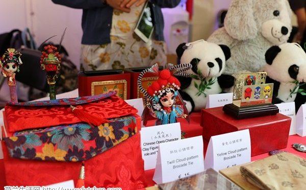 中国展区在海牙国际使馆节上格外靓丽