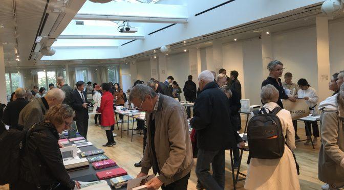 斯德哥尔摩中国文化中心举办《华彩书香—当代中瑞书籍设计艺术展》
