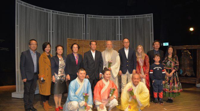 中国儿童剧《三个和尚》在瑞典成功演出
