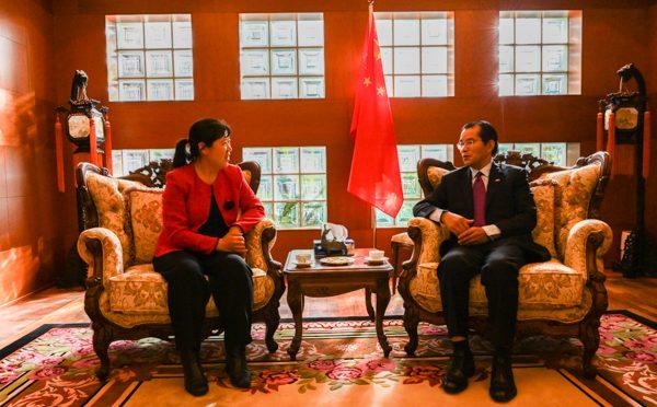 今日头条:桂从友大使接受北欧绿色邮报网专访:畅谈中国成立70周年取得的重大成就和未来挑战