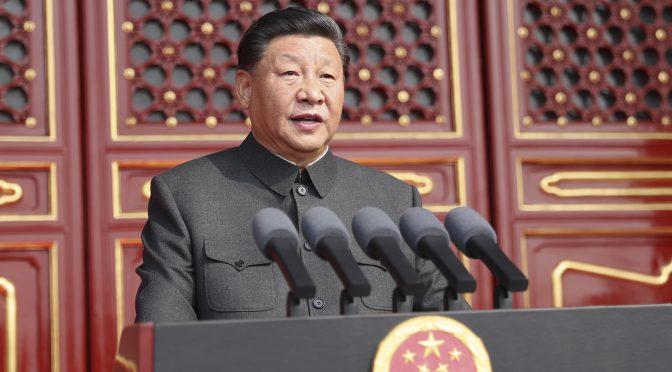 北欧绿色邮报网北京报道:庆祝中华人民共和国成立70周年大会在北京隆重举行