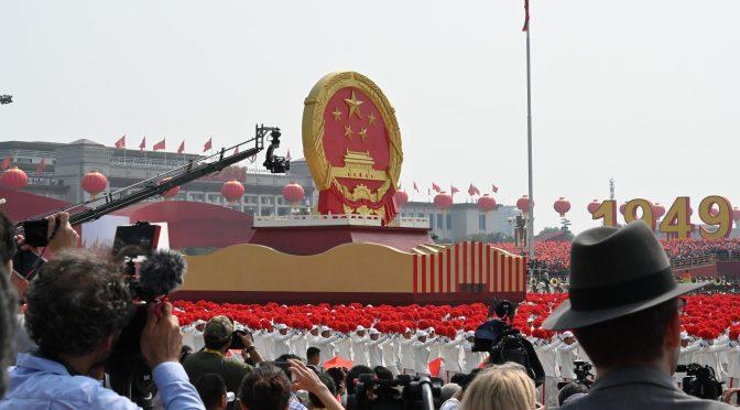 新中国70周年大庆典受到中国老百姓的高度赞誉