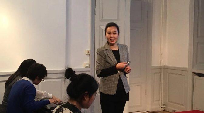 斯德哥尔摩中国文化中心古琴班教学火热进行中