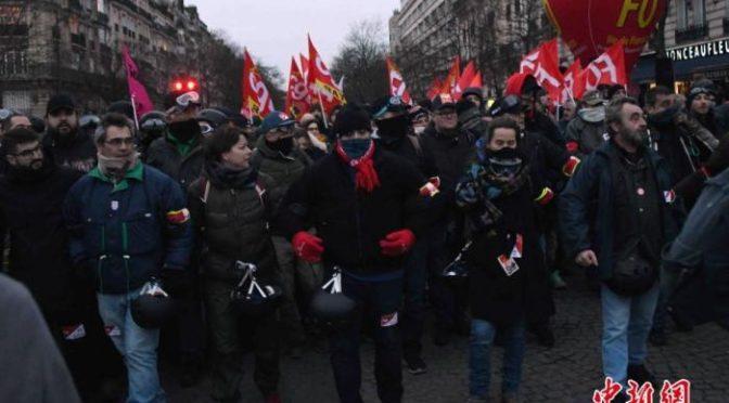 法国总理公布改革细节工会拒买账 扬言持续罢工