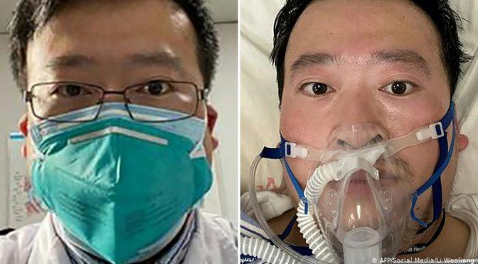 纪念李文亮医生 让我们化悲痛为力量