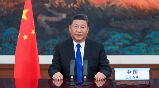 今日头条:中国国家主席习近平呼吁共同构建人类卫生健康共同体并承诺两年援助20亿美元