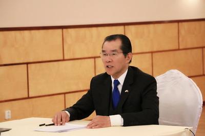驻瑞典大使桂从友在健康丝绸之路与抗击新冠疫情中外专家视频研讨会上的讲话