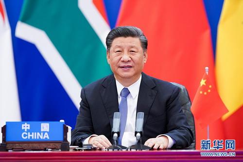 习近平:中国始终支持多边主义、践行多边主义,以开放、合作、共赢精神同世界各国共谋发展。