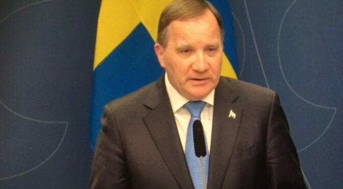 瑞典首相勒文警告新冠形势可能会变得黑如暗夜