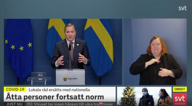 瑞典疫情通报感染人数超过50万死亡人数近万