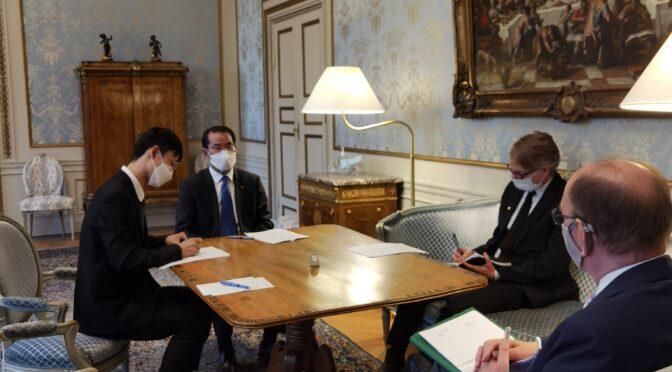 今日头条:桂从友大使就欧盟对华制裁向瑞典政府提出严正交涉