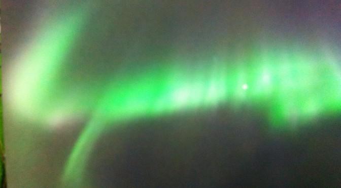 瑞典北极光令人震撼
