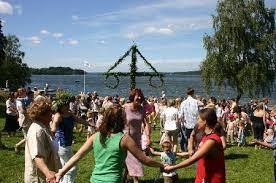 瑞典庆祝2016仲夏节