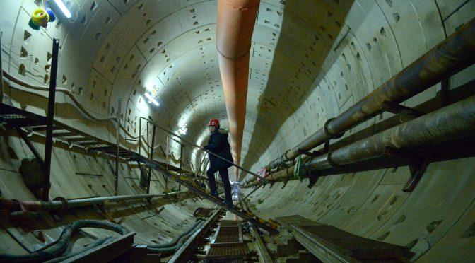我国首条穿越黄河地铁成功穿越四次