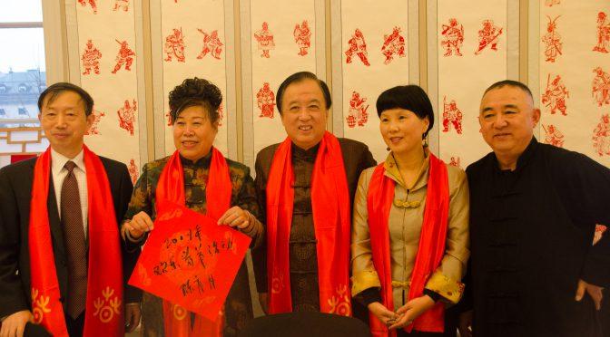 今日头条:斯德哥尔摩中国文化中心举办鸡年欢乐春节活动