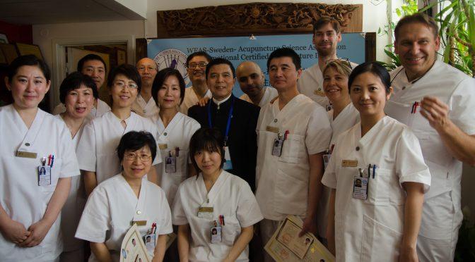 今日头条:世界针联—瑞典针灸学术研究学会国际注册针灸医师首期学员毕业