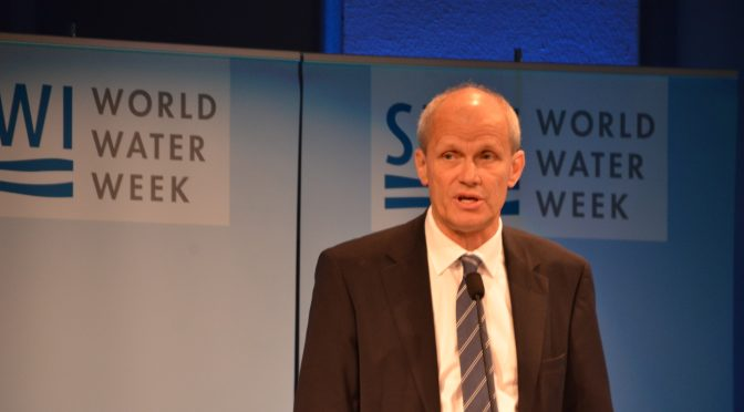 World Water Week in Stockholm focuses on water and waste to reduce and reuse
