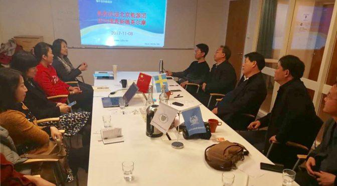 瑞中合作促进会接待北京市副中心代表团